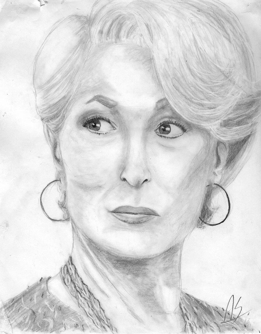meryl streep by ~dady433 on deviantart