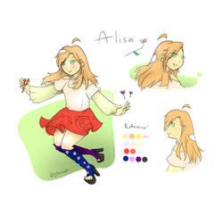 Alisa Character Design