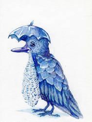 U is for Umbrella Bird