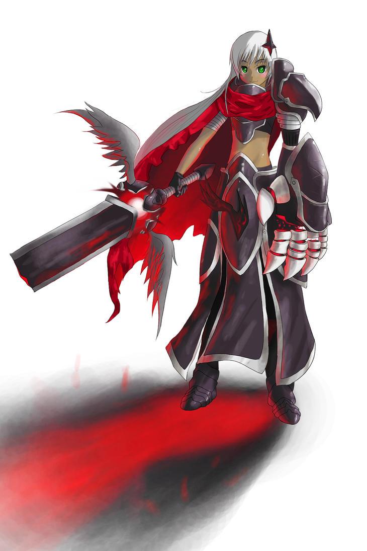 Scarlet Warrior-FEZ Contest by darksen