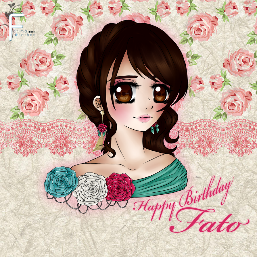 Happy Birthday Fato by everblue4219