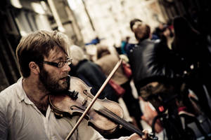 Street Musician by freye