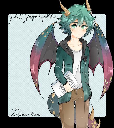 AU: Dragon Quirk! Izuku Midoriya [ read desc  ] by