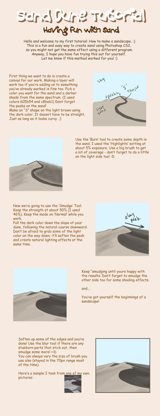 Easy Sand Tutorial by zerotozune