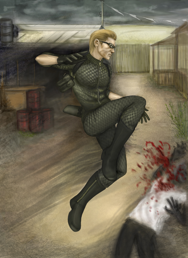 Mercenaries: Midnight Wesker by zerotozune
