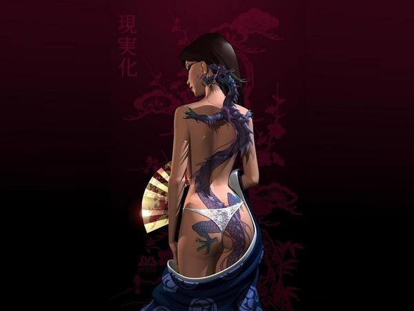 dragon_girl by Serpentine-Gfx