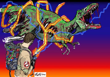 Ghostbusters vs Zombie Rex