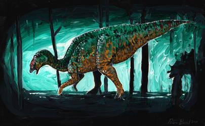 Lost Edmontosaurus