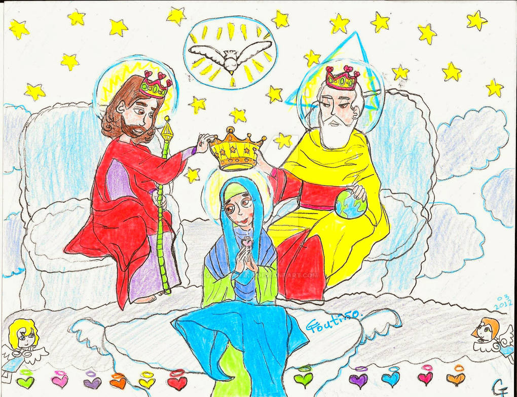 Coronacion de la santisima Virgen Maria