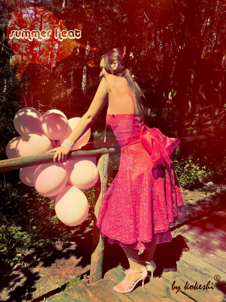 happy pink ribbons by Haleluya