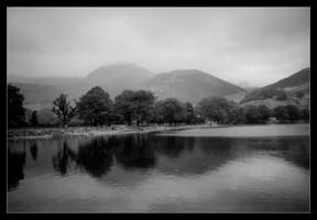 Reflections on a Lake, Cumbria