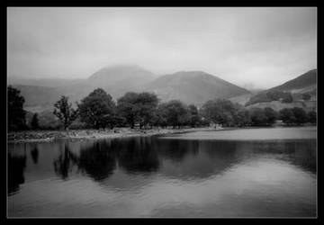 Reflections on a Lake, Cumbria by Ravenology