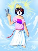 Tumblrina Skynet Bisexual Jesus 8-ball