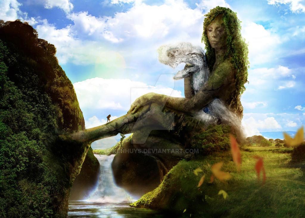 Garden Of Eden By Kenhuys