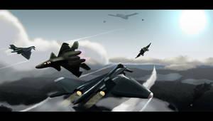 Ace Combat X- Apalis Vs Fenrir