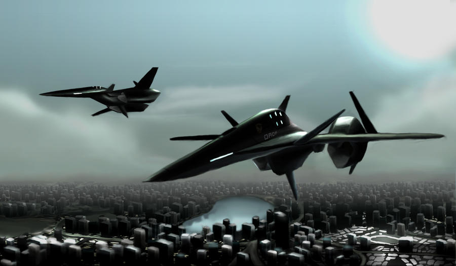 Ace Combat 5 - Falken by zzhangster