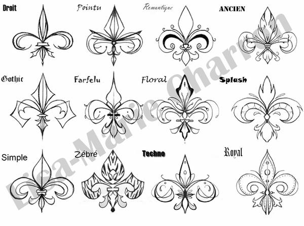 fleur de lys tattoo by yin yang destinity on deviantart. Black Bedroom Furniture Sets. Home Design Ideas
