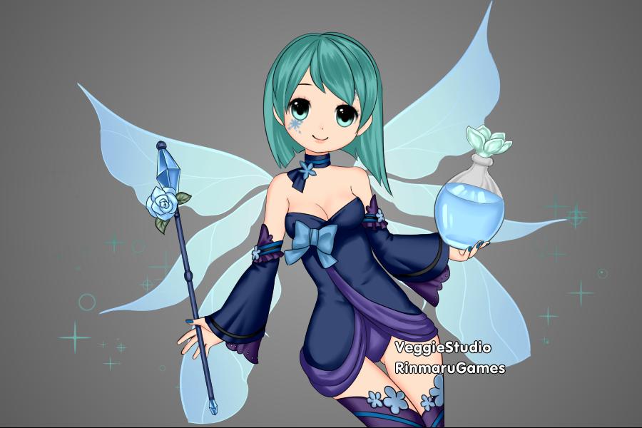 Water Fairy by Kaatryn