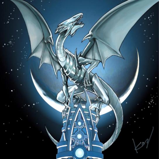 Blue Eyes White Dragon by SoraIrelandUchiha