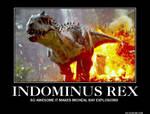 Indominus Rex Motivational Poster