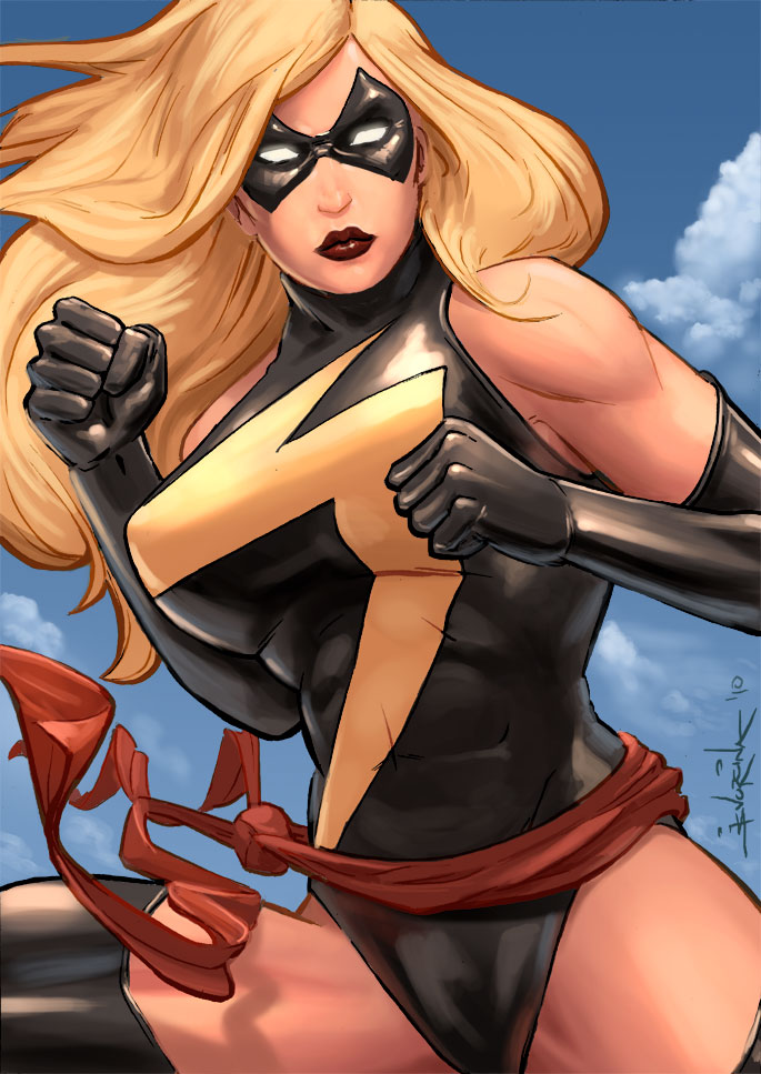 Ms. Marvel by samwyse
