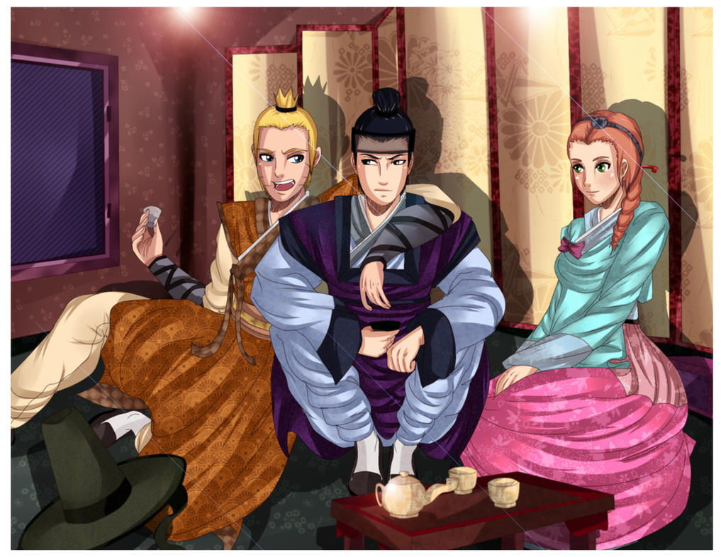 Once Upon a Time in Another World :Team 7 : by NammyLank