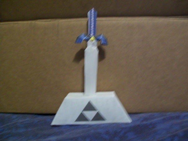 Zelda Master Sword Papercraft By Neji23