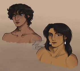 Dorian and Isamu || Sketchdump