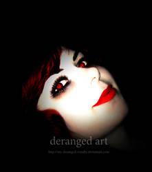 red evil lady vampire