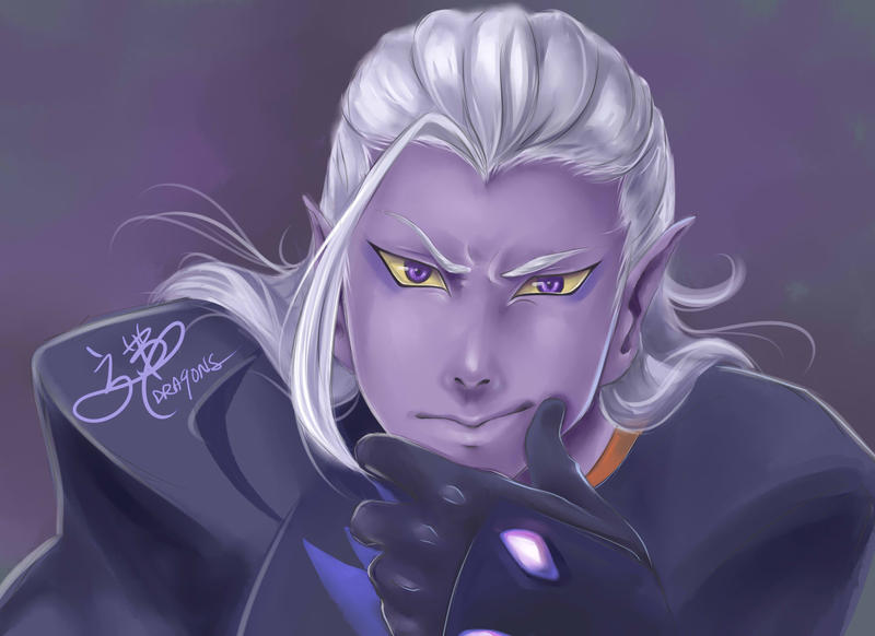 Prince Lotor by DRA9ONS on DeviantArt