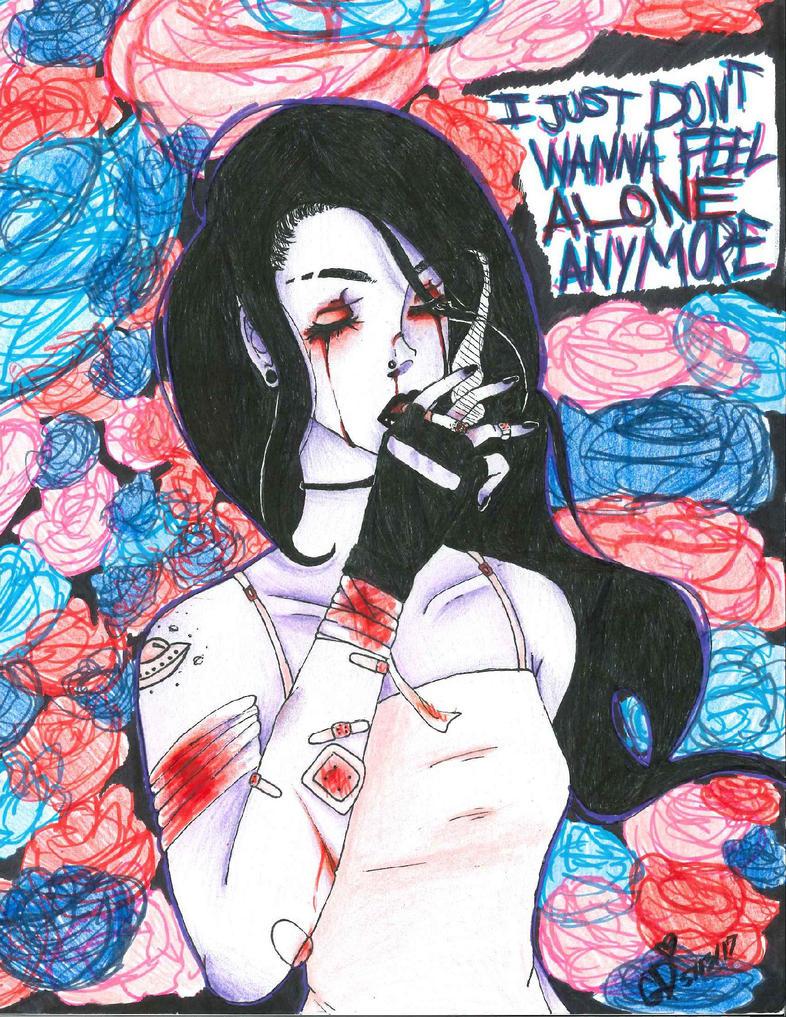 .:I don't wanna be alone anymore:. by NyanRainbowKatz