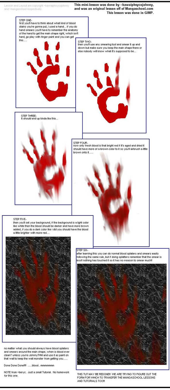 CG Tutorial: Blood Smears by MangaSchool on DeviantArt