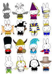 Generation Miffy Due by likimonster