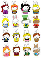 Generation Miffy-Disney Years2 by likimonster