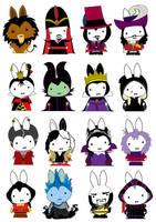 Generation Miffy- Disney Evil by likimonster