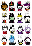 Generation Miffy- Disney Evil by likimonster