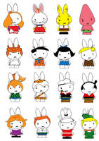 Generation Miffy- one of many by likimonster