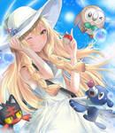 Pokemon Sun and Moon -Trainer Lillie Fanart
