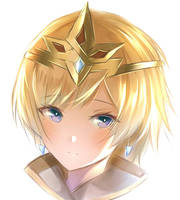 simple face - Fjorm(Princess of Ice) by Fhilippe124