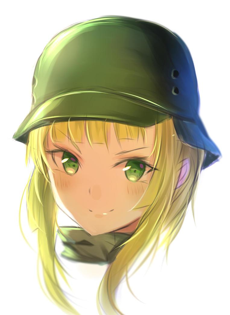 Fukaziroh face  -SAO Alternative Gun Gale Online by Fhilippe124