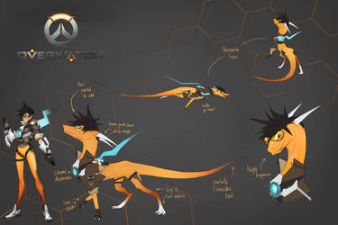 Tracer Dragon Morph - Contest Entry