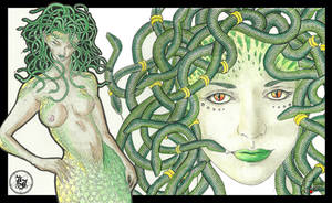 Snake Haven - Medusa by Zitherial