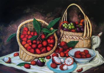 Rambutan and Mangosteen