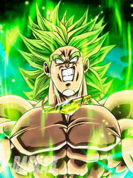 This won't be a happy ending  -Broly dbz