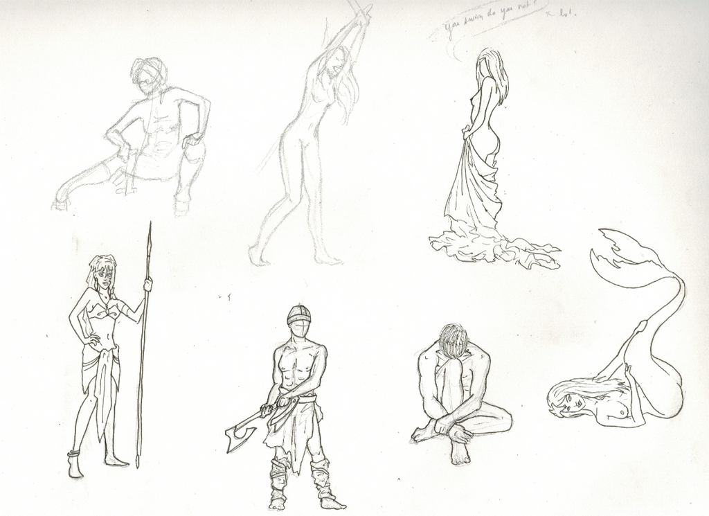 Sketch People Page 3 by sophatizer