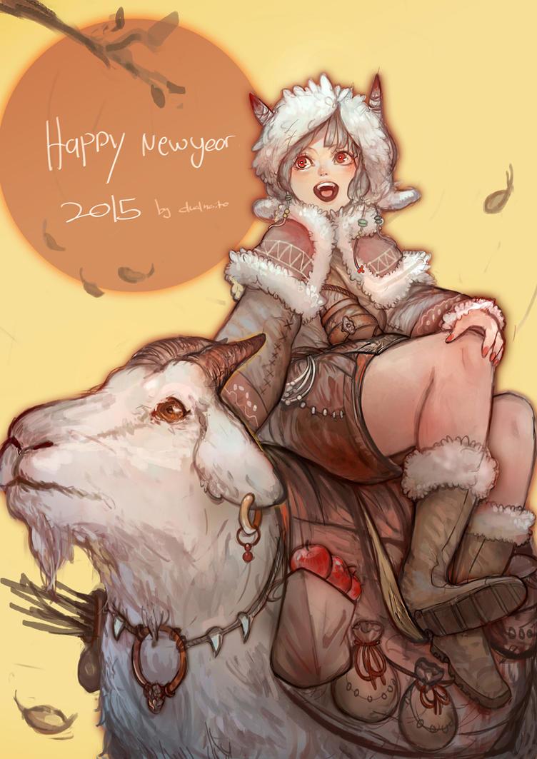 Happy New Years 2015 by DualNaito