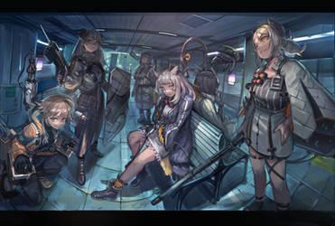 Arknight R.L Squad