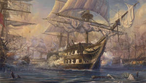 Battleship Azov by TolyanMy