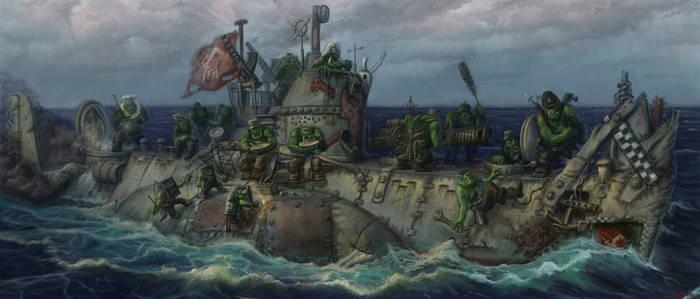Orcs submarine