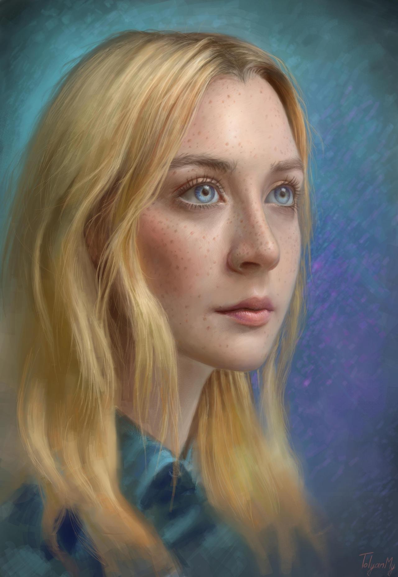 Saoirse Ronan by TolyanMy